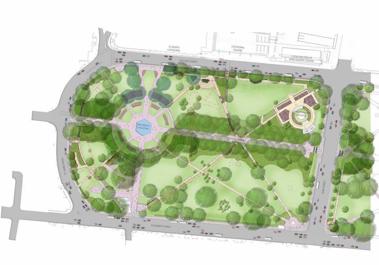 Hyde Park Masterplan