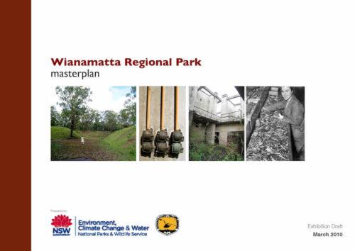 Wianamatta Regional Park Masterplan