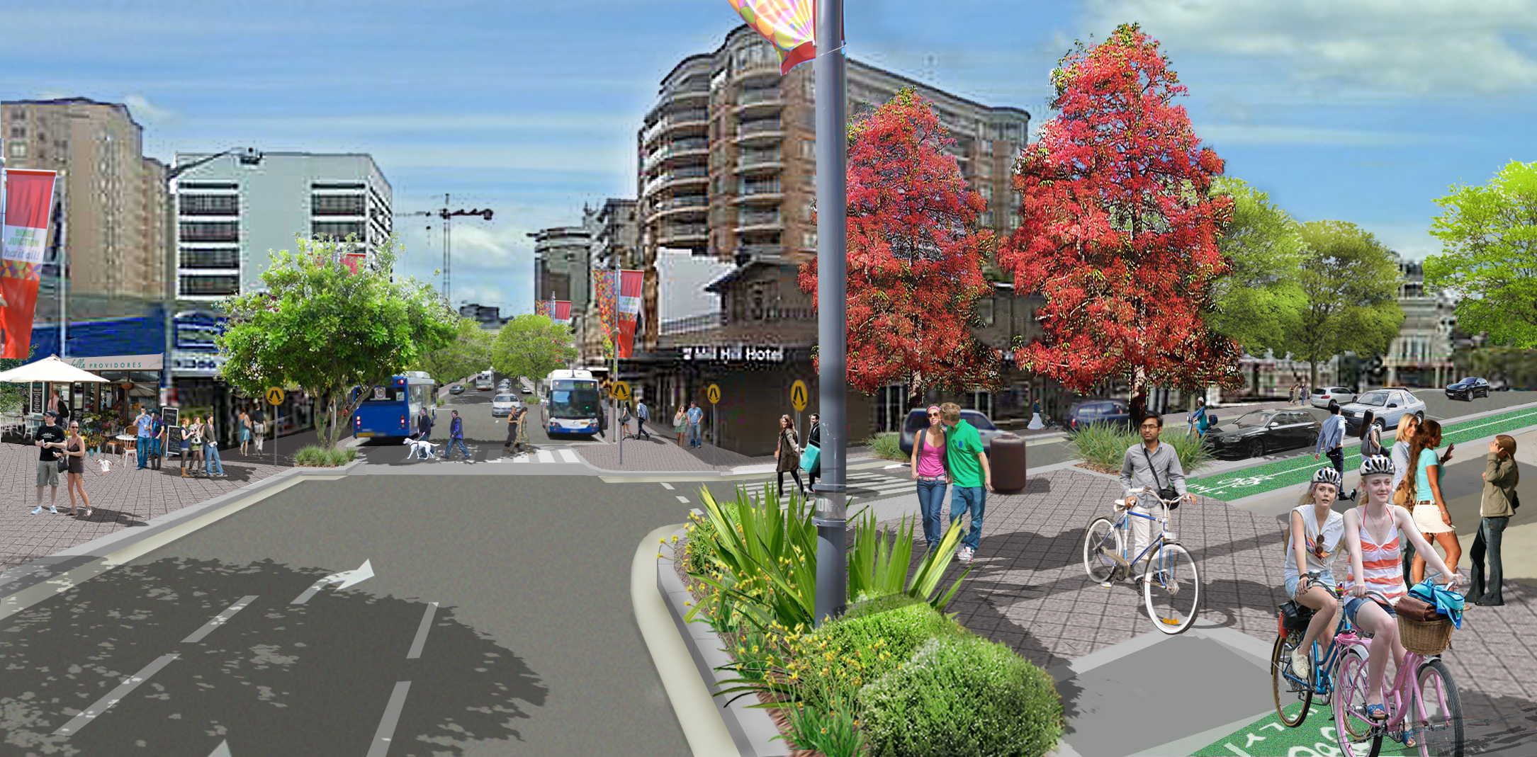 Bondi Junction Complete Streets